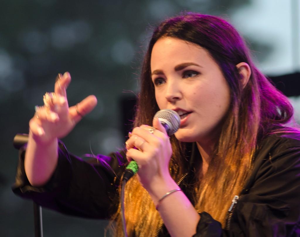 Miriam Bryant på Musikens Makt i Luleå 2013. Härlig konsert, Miriam har verkligen en underbar röst!