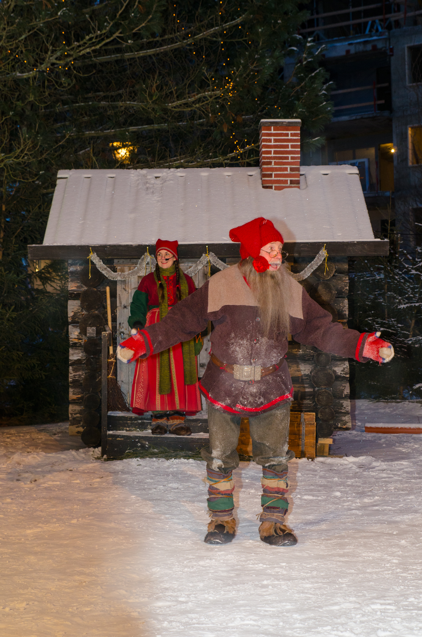 julkalendern i stadsparken Luleåjulkalendern i stadsparken Luleå