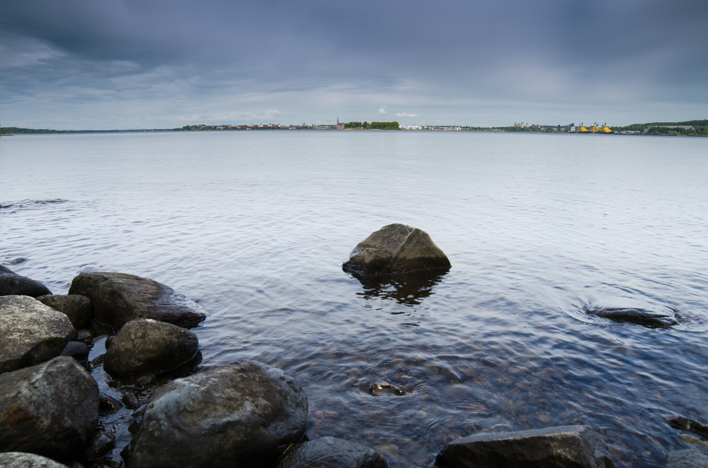 Luleå fotograferat från Gråsjälören