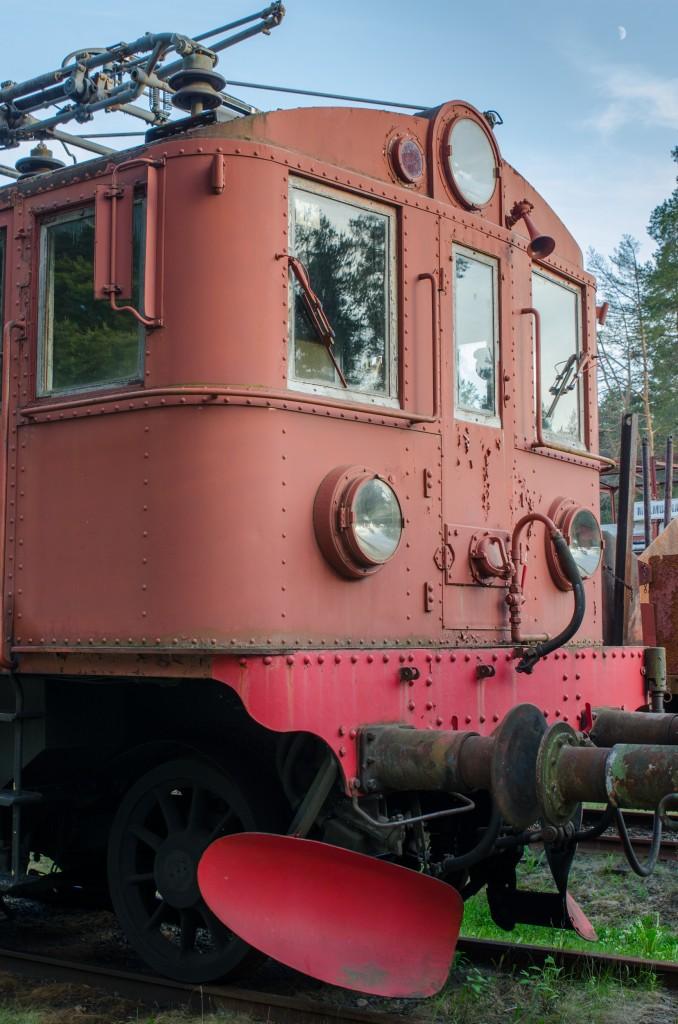 Järnvägsmuseet i Karlsvik, Luleå. Fantastiskt fint om man gillar gamla mekaniska grejor. Så snygga detaljer, kolla bara på nitarna...