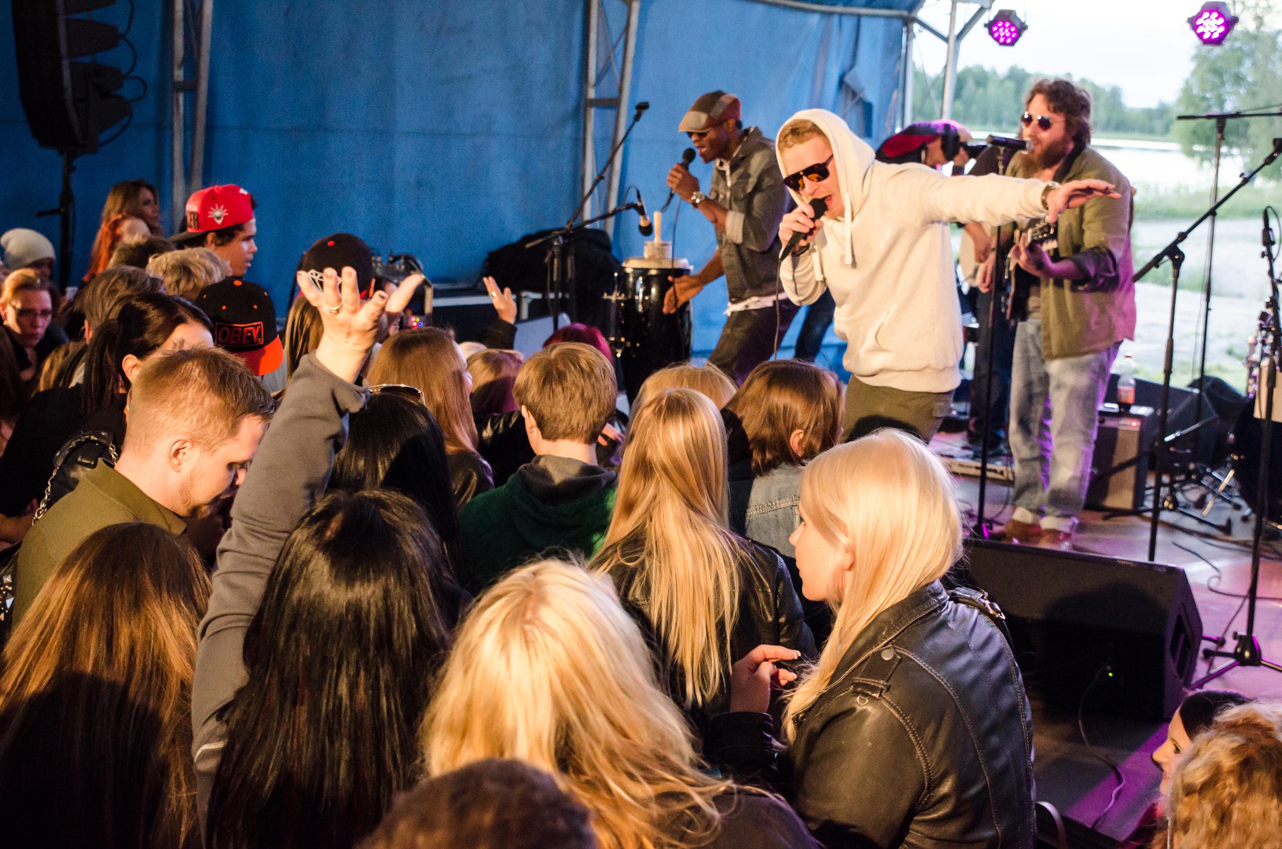 Skaburbian Collective, Kläppenfestivalen Boden