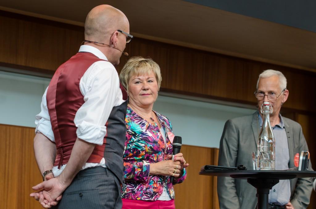 Mineralriket Luleå 2014. Christina Lugnet, regeringskansliet samt Patrik Källman, Vasco Advisers.