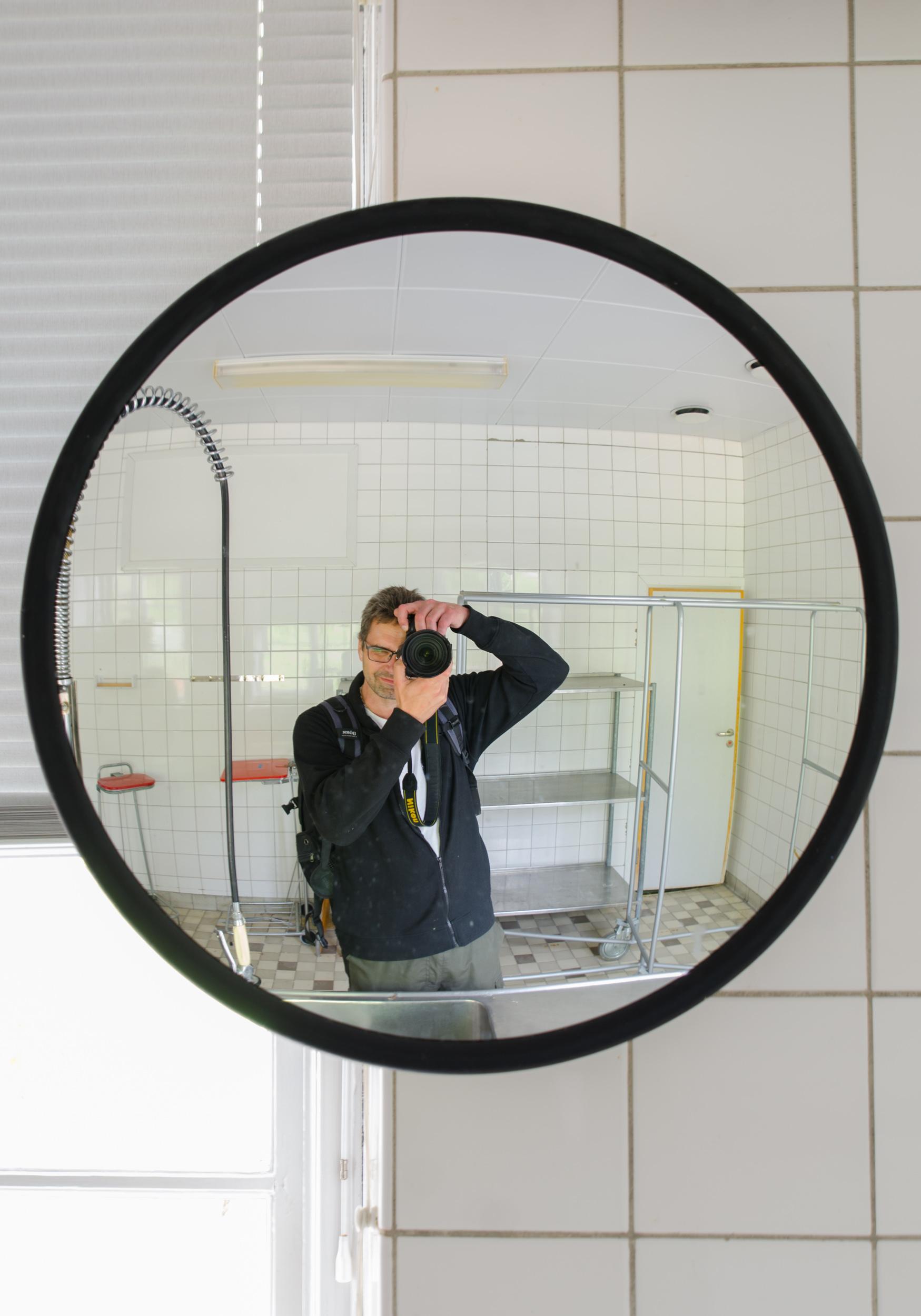 Sandträsk sanatorium. En fotograf...
