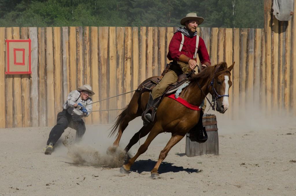 Western Farm Boden, en höjdare för familjen. Väldigt trevligt och man slår lätt ihjäl en dag där! Fler bilder >>
