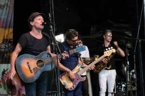Hamnfestivalen i Luleå med Bo kaspers orkester.