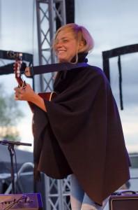 Anna Ternheim på Musikens Makt i Luleå 2014.