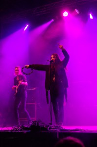 Nicole Sabouné på Musikens Makt i Luleå 2014.