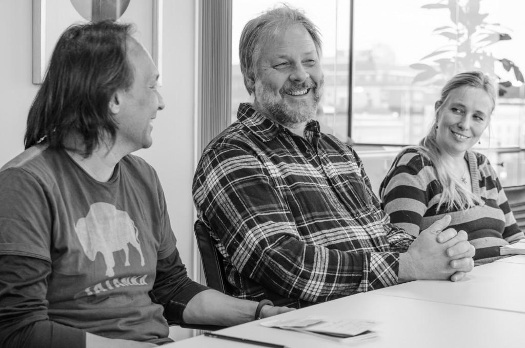Troy Champbell, Birgitta och Tim Linhart på Kulturens hus i Luleå. Intressant samarbete mellan Austin och Luleå