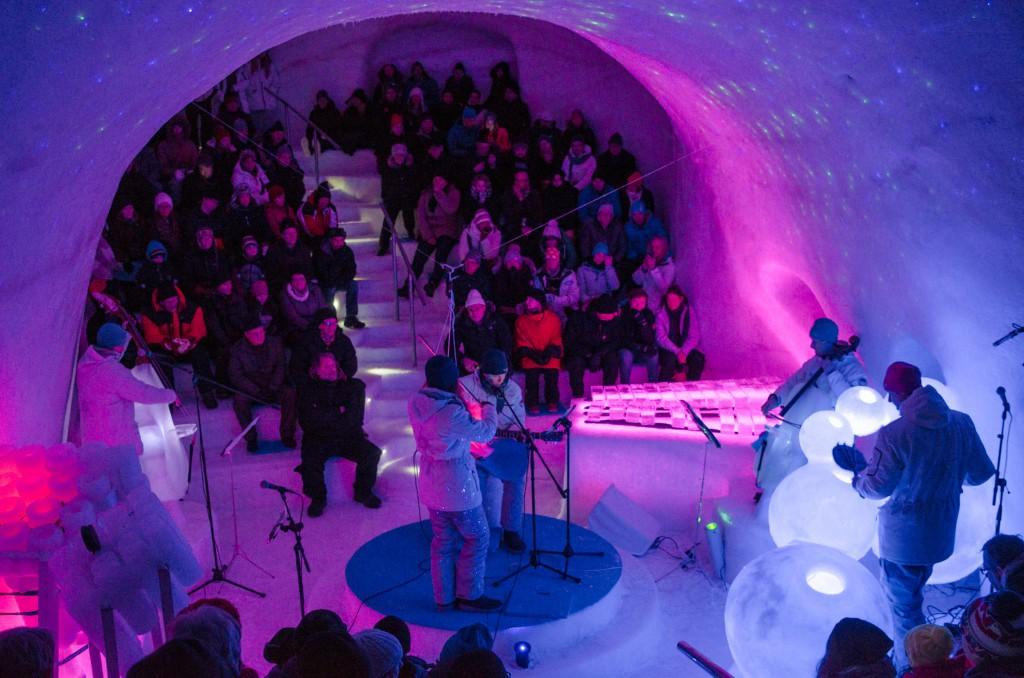 Fantastiska och unika Ice Music i Luleå - Värt ett besök för er som har möjlighet! Mer info finns på deras hemsida www.icemusic.se