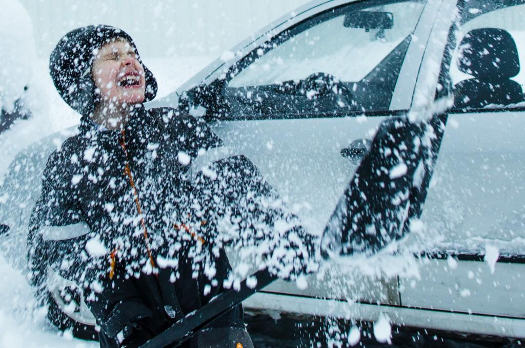 Snöbollskrig är ingen lek... här är det All In som gäller...