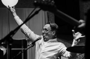 Acnes sångare och gitarrist Kjell Peder Johansson