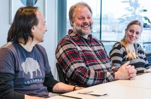 Troy Campbell, Tim och Birgitta Linhart