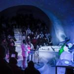 Frosty Nights. Ice Music 2015