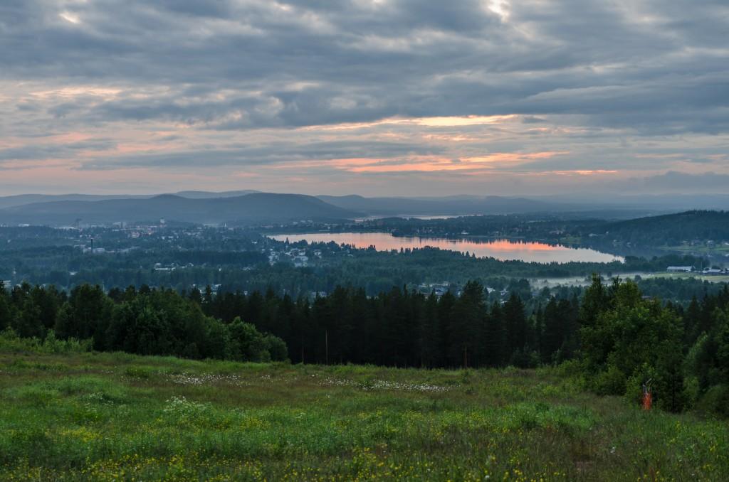 Gruvberget med utsikt över Boden