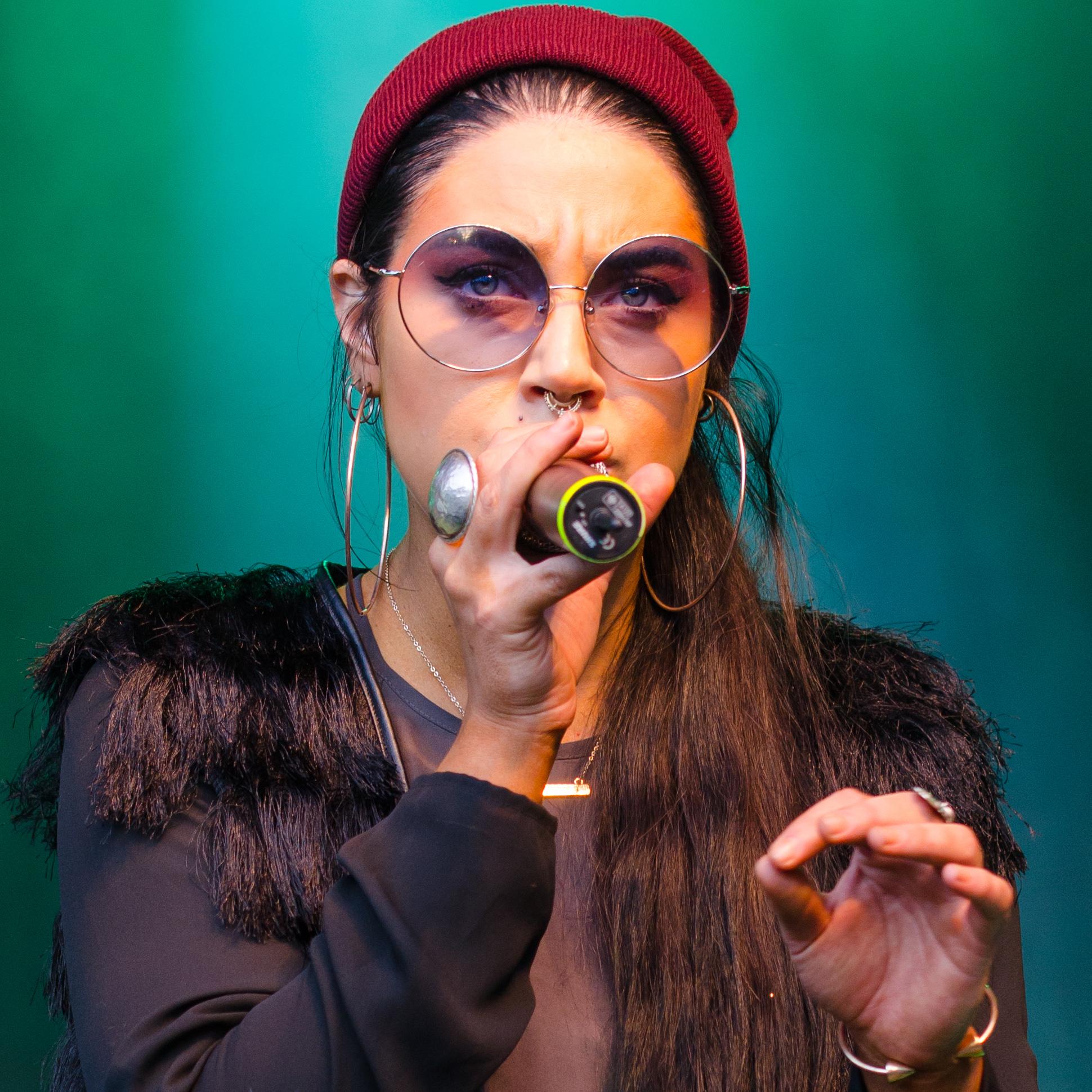 Maxida Märak på Musikens Makt i Luleå