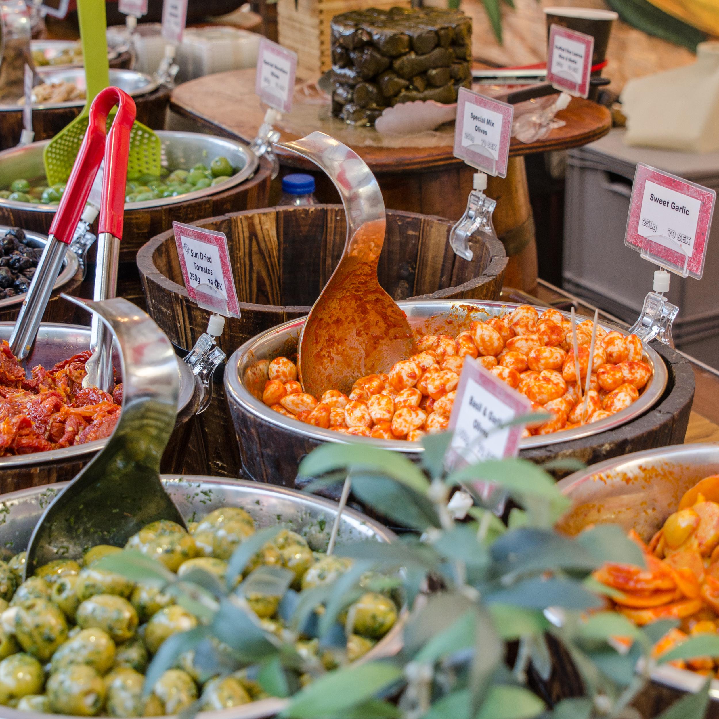 Internationella matmarknaden i Luleå 2015