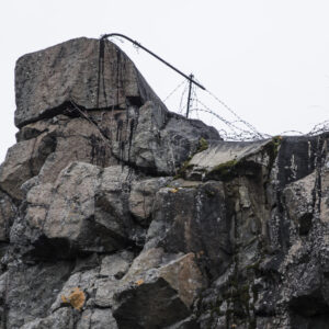 Åbergets militäranläggning.
