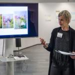 Carina Kågström, underbara tavlor och intressant  berättelse  hur de kommer till!