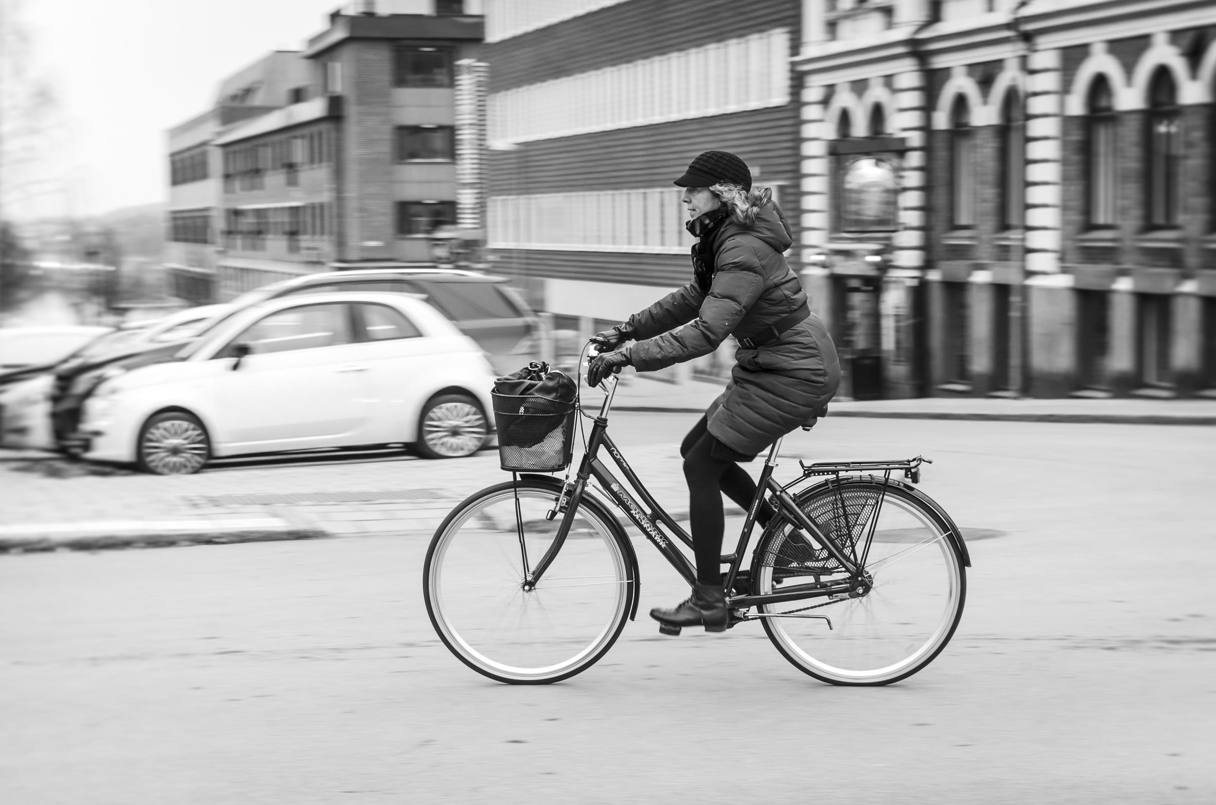 Cykla i november