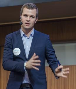 Frank Hojem, kommunikationsdirektör LKAB