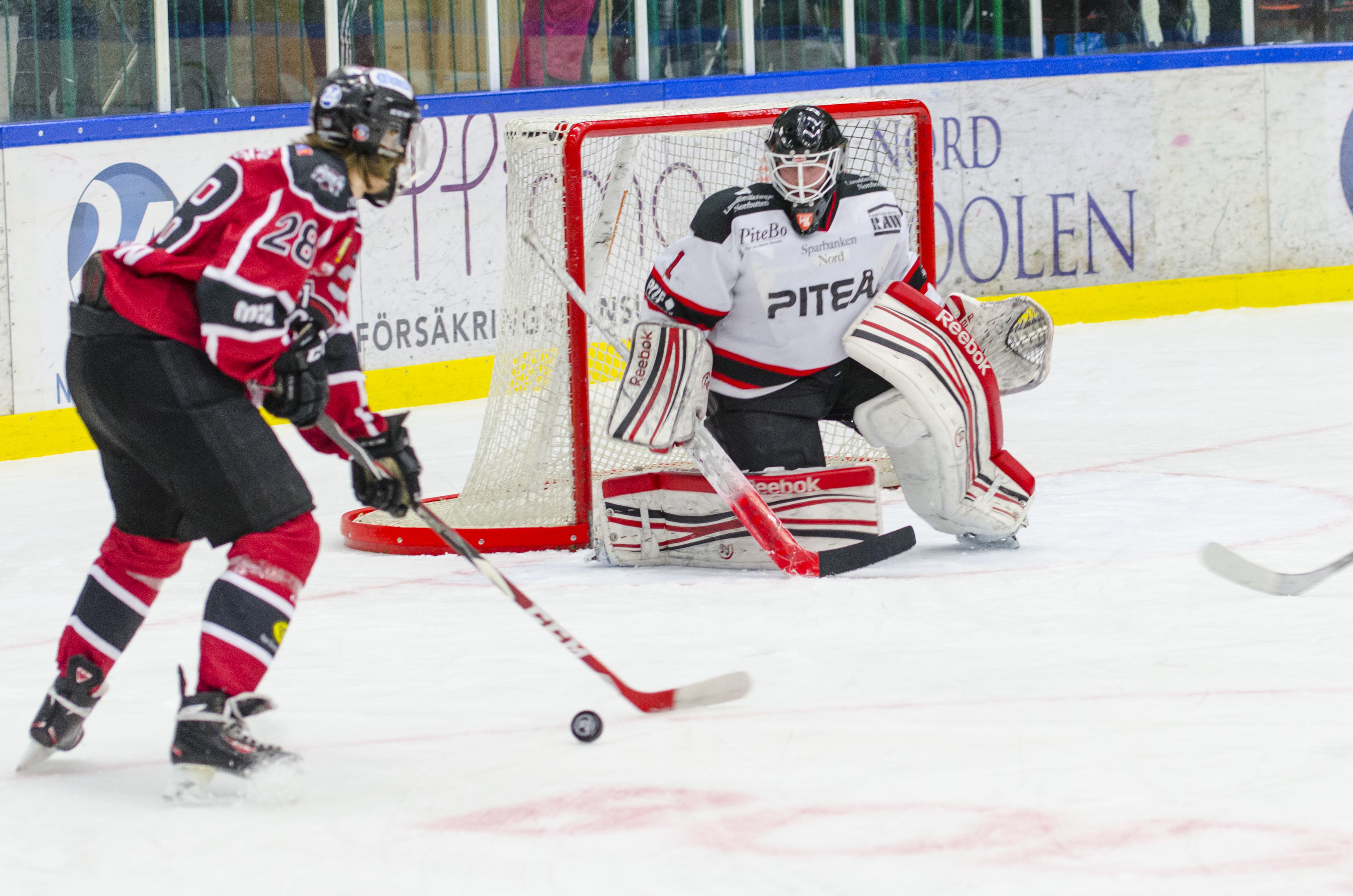 Höjdarhockey, Boden J18 mot Piteå