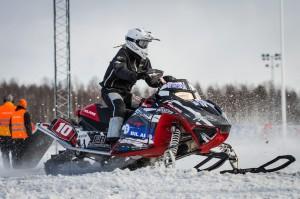 10 Ellen Bäcke SMK Ockelbo. Polaris. Final i Skotercross i Boden 2016