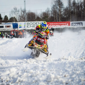 79 Emilia Dahlgren Team Walles MK  Team Motor & Fritid Lynx. Final i Skotercross i Boden 2016