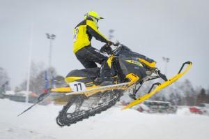 77 Robert Lunden Tydal MK   Ski-Doo. Final i Skotercross i Boden 2016