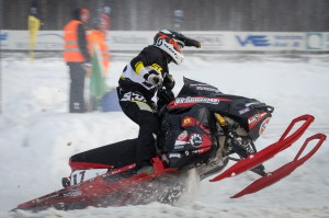17 Adam Öhman Älvsbyns MS  Br Öhman Racing Team Lynx. Final i Skotercross i Boden 2016