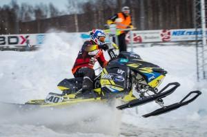 Oskar Norum Umeå AK  Motorbolaget Ski-Doo Sweden Ski-Doo. Final i Skotercross i Boden 2016