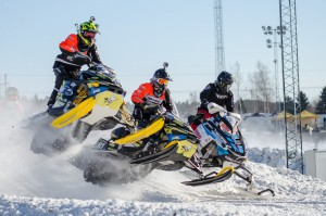 36 Philip Andersson Bygdsiljum Motorklubb  Team A-son Racing Lynx. Final i Skotercross i Boden 2016
