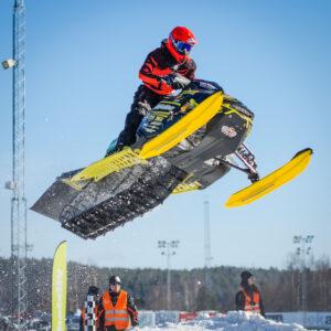 666 Emil Hägg Infjärden Racing SK. Ski-Doo.