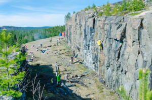 Febril aktivitet var det runf Åbergsfortet. Och för några (ganska många) år sedan var det en topphemlig anläggning...