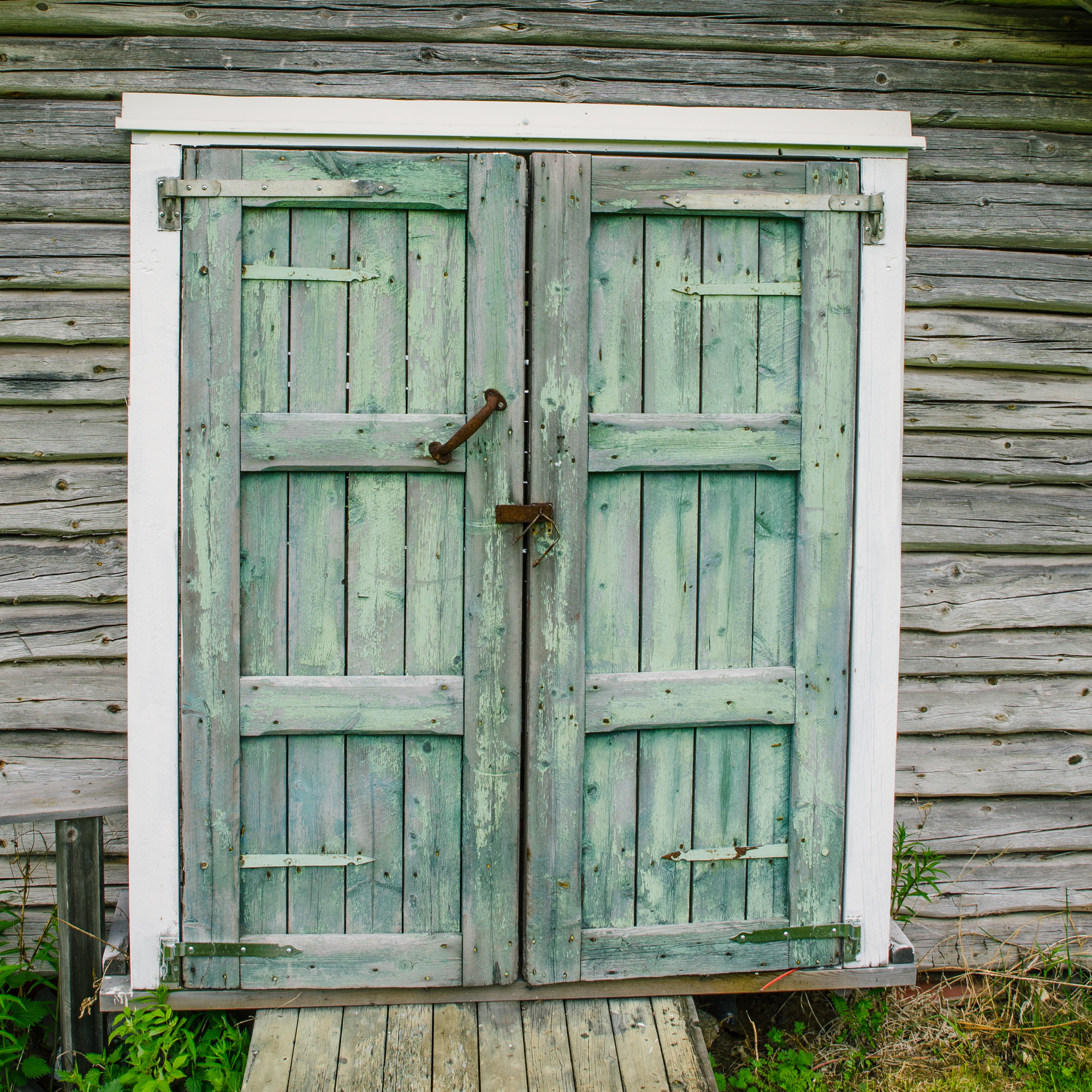 En dörr…