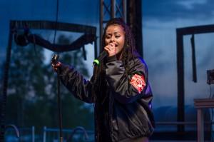Cherrie på Musikens Makt i Luleå.2016.