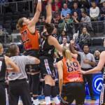 Ulrika Holmqvist. Luleå Basket vs Udominate.