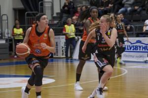 Sofia Hägg. Luleå Basket vs Udominate.