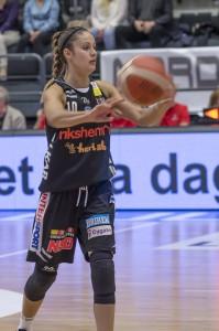 atie Bussey. Luleå Basket vs Udominate.