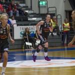 Anna Barthold. Luleå Basket vs Udominate.