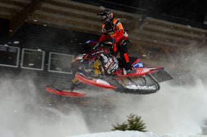 #58 Axel Johansson, Tavelsjö SK. Boden Arena Super-X 2017.