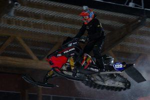 #129 Jens Nordström, Infjärden Racing SK. Boden Arena Super-X 2017.