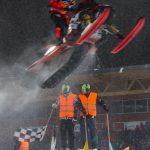 Målgång. Boden Arena Super-X 2017.