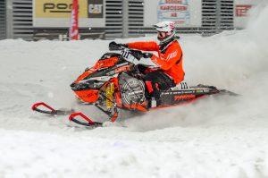 #111 Sebastian Asp, Kiruna MK Team Lundström Maskin. Boden Arena Super-X 2017.