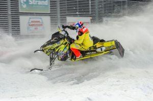 #1 Oskar Norum, Umeå AK Team Northbike. Boden Arena Super-X 2017.