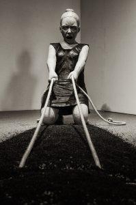 """""""Sciamachia"""" by Yasam Samazer, Havremagasinet. Utställningen METANOIA - Yasam Sasmazer."""