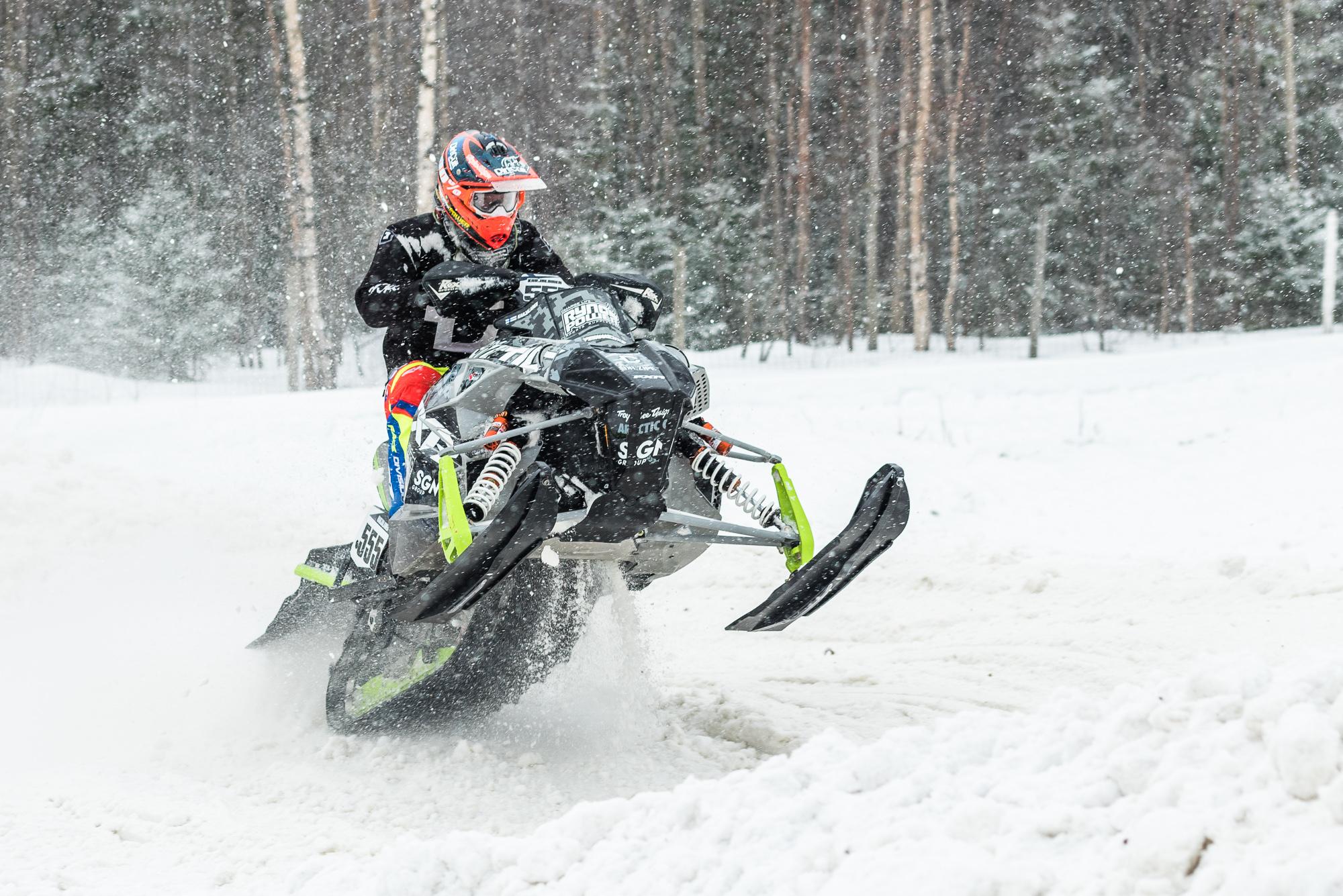 Skotercross VM i Älvsbyn 2017
