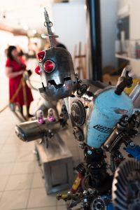 Nordsken 2017.  Fantasifulla robotar var det gott om, otroligt välbyggda!