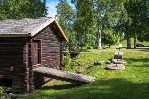 Mysiga Svandammen i Skellefteå. Otroligt vackra miljöer i området. En riktig oas i Skellefteå!