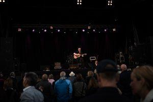 Eric Gadd på Boden Alive 2017.