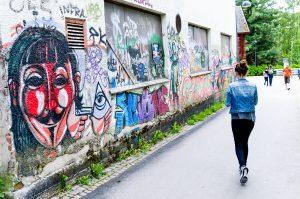 Semester 2017, Uleåborg (Oulo). Aldrig fel med grafitti, om det är snyggt och på en ful plats.